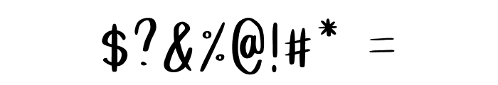 Grainne Font OTHER CHARS