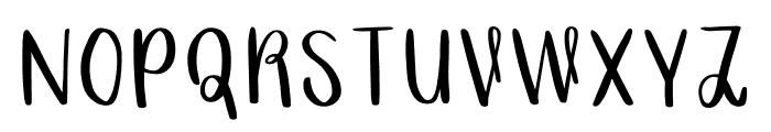 Grainne Font UPPERCASE