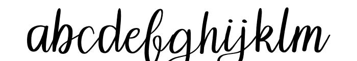 Grainne Font LOWERCASE