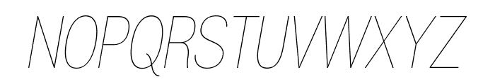 Gram Italic Font UPPERCASE