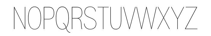 Gram Regular Font UPPERCASE