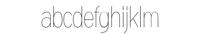 Gram Regular Font LOWERCASE