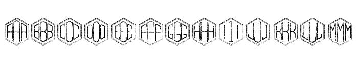 Gramitos Font UPPERCASE