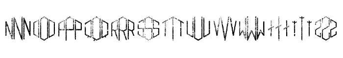 Gramitos Font LOWERCASE