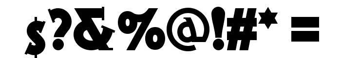 Gramophone NF Font OTHER CHARS