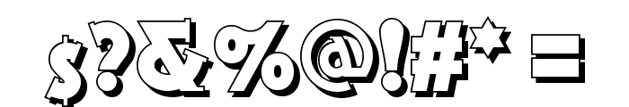 Gramophone Shaded NF Font OTHER CHARS