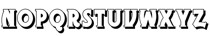 Gramophone Shaded NF Font LOWERCASE