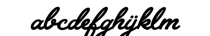Granada Blues Personal Use Regular Font LOWERCASE