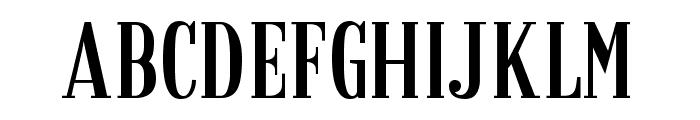 Granaina-limpia Font UPPERCASE