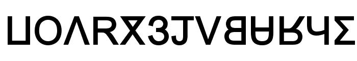 Grand Alphabet [Arial] Font UPPERCASE
