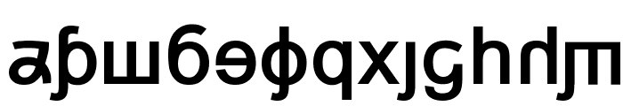 Grand Alphabet [Arial] Font LOWERCASE