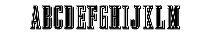 GrandBOpti Font UPPERCASE