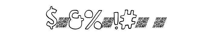 GrandCircleDT Font OTHER CHARS