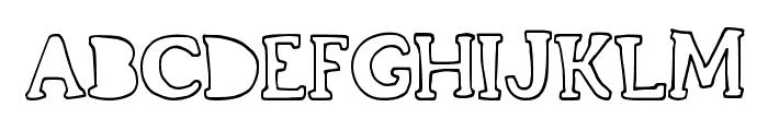 GrandCircleDT Font UPPERCASE