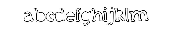 GrandCircleDT Font LOWERCASE