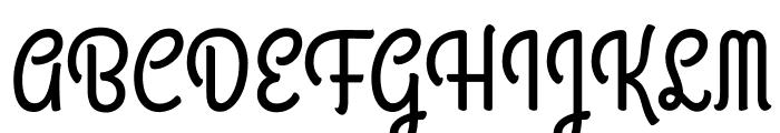 GrandHotel-Regular Font UPPERCASE