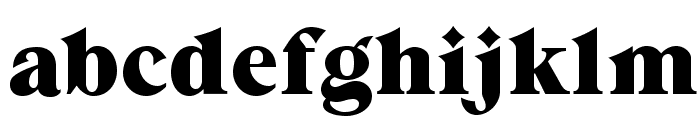 GrandeeCP Font LOWERCASE