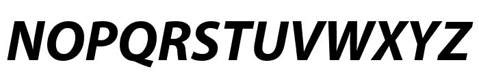 Grandesign Neue Roman Bold Italic Font UPPERCASE