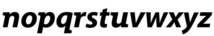 Grandesign Neue Roman Bold Italic Font LOWERCASE