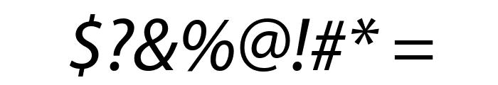 Grandesign Neue Roman Italic Font OTHER CHARS