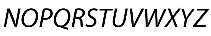 Grandesign Neue Roman Italic Font UPPERCASE