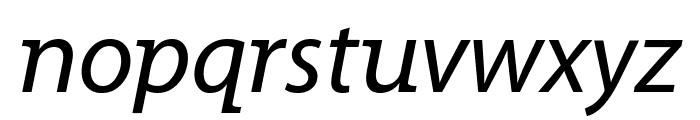 Grandesign Neue Roman Italic Font LOWERCASE