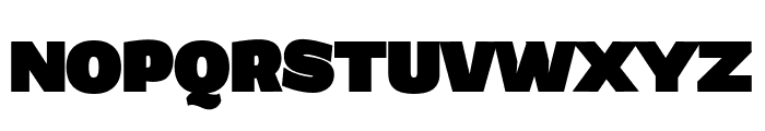 Grandi PERSONAL USE Black Font UPPERCASE