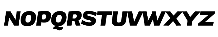 Grandi PERSONAL USE Bold Italic Font UPPERCASE