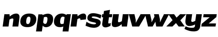 Grandi PERSONAL USE Bold Italic Font LOWERCASE