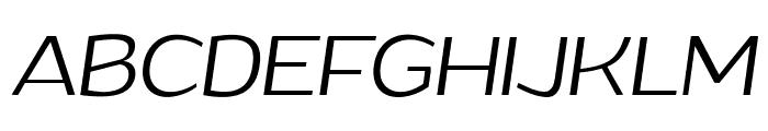 Grandi PERSONAL USE Light Italic Font UPPERCASE