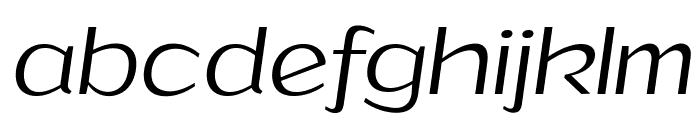 Grandi PERSONAL USE Light Italic Font LOWERCASE