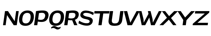 Grandi PERSONAL USE Medium Italic Font UPPERCASE