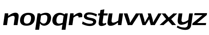Grandi PERSONAL USE Medium Italic Font LOWERCASE