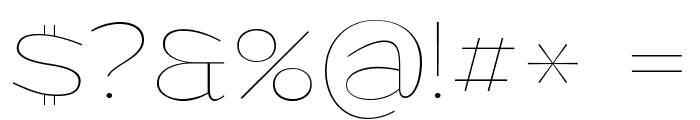 Grandi PERSONAL USE Thin Font OTHER CHARS