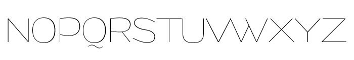 Grandi PERSONAL USE Thin Font UPPERCASE