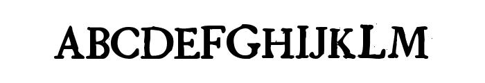 GrandjeanPW Font LOWERCASE