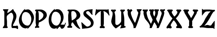 Grange Regular Font UPPERCASE