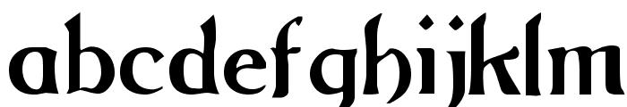 Grange Regular Font LOWERCASE