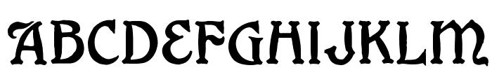 Grange Font LOWERCASE
