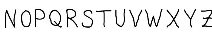 Granite Letter Regular Font UPPERCASE