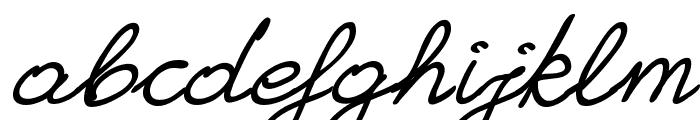 Granny's Handwriting Font LOWERCASE