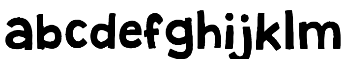 Granstander Clean Font LOWERCASE