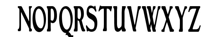 GranthamCondensed Roman Font UPPERCASE