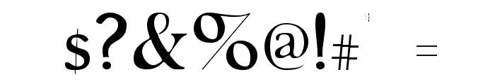 GranthamLight Font OTHER CHARS
