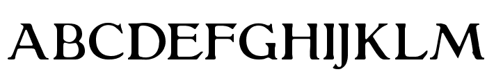 GranthamLight Font UPPERCASE