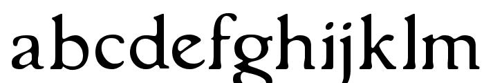GranthamLight Font LOWERCASE