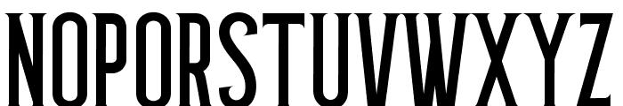 Grantmouth Standard Font UPPERCASE