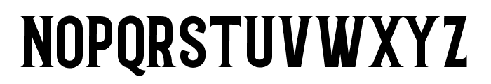 Grantmouth Standard Font LOWERCASE