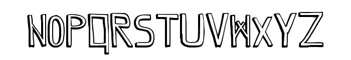 GrapeBlaster Font UPPERCASE
