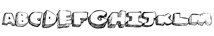 GrapeSoda Font UPPERCASE